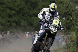 Davis Casteu na Rallye Dakar